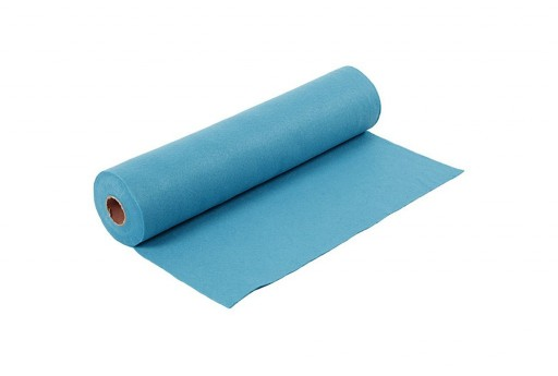 Soft Felt Roll Turquoise 1,5mm 45cm x 5mt