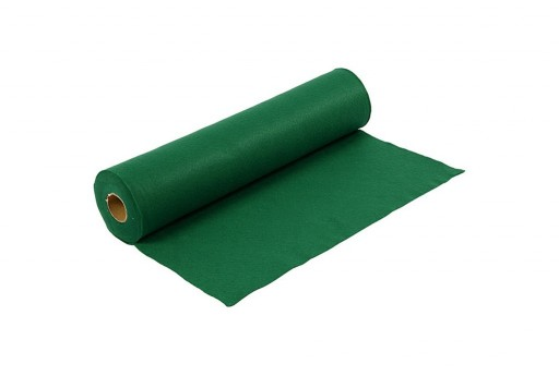 Soft Felt Roll Green 1,5mm 45cm x 5mt