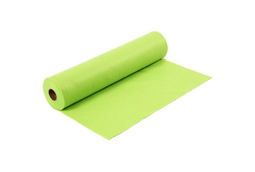 Rotolo di Pannolenci Feltro Verde Chiaro 1,5mm 45cm x 5mt