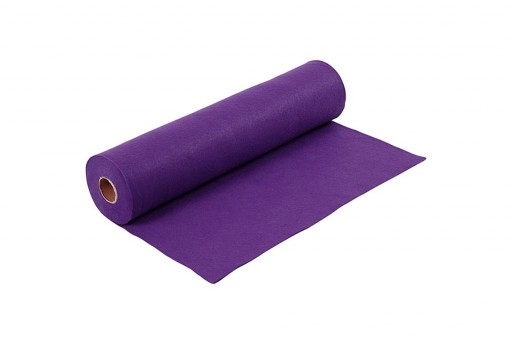 Soft Felt Roll Purple 1,5mm 45cm x 5mt