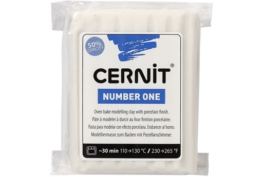 Cernit Number One Porcelain White 56gr