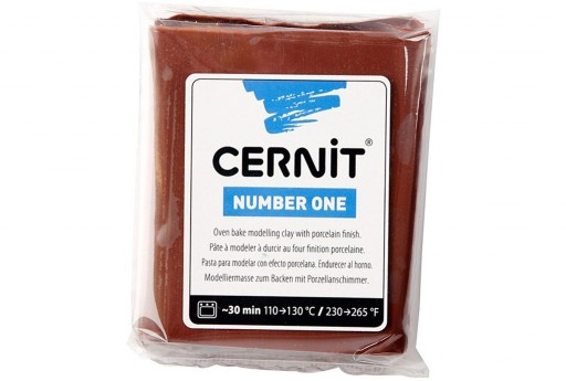 Cernit Number One Marrone 56gr