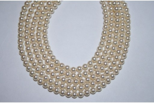 Perle Swarovski Cream 5810 4mm - 20pz