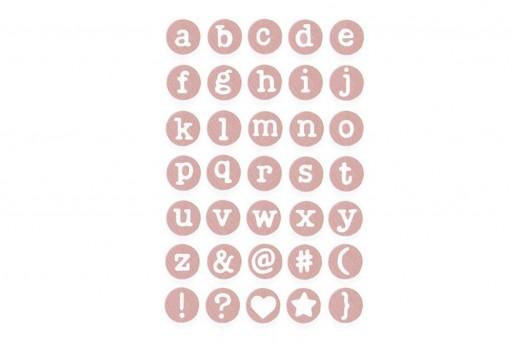 Fustelle Thinlits Alfabeto Minuscole Delicate Sizzix
