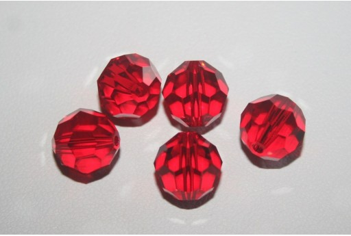 Round Swarovski Light Siam 10mm 5000 227