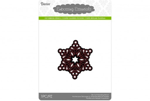Cutting Die Snowflake Small Darice 1pcs