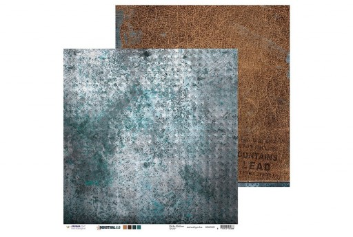 Carta Decorata n.09 Industrial 2.0 Studio Light 30x30cm 1pz.
