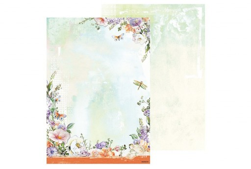Carta Decorata n.253 So Spring Studio Light A4 21x30cm 1pz.