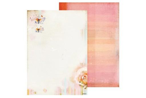 Carta Decorata n.252 So Spring Studio Light A4 21x30cm 1pz.