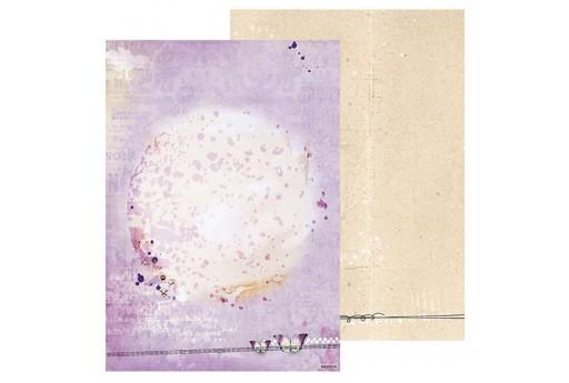 Carta Decorata n.255 So Spring Studio Light A4 21x30cm 1pz.
