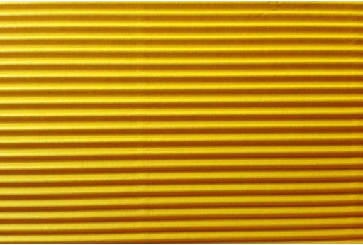 Corrugated Paper Yellow 50x70cm 1 sheet