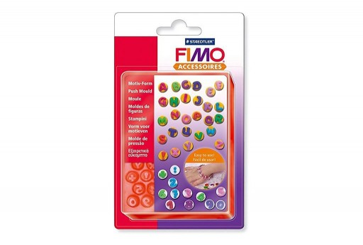 Fimo Push Moulds - ABC/123