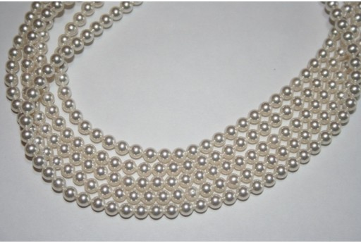 Perle Swarovski White 5810 4mm - 20pz
