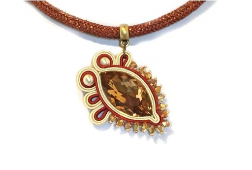Soutache Pendant Kit Jessica Massari