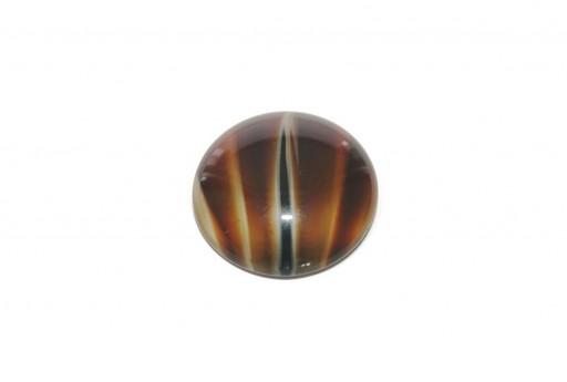 Cabochon Par Puca® Opaque Tortoise 25mm - 1pcs