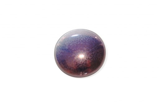 Cabochon Par Puca® Lila Red Bronze 25mm - 1pcs