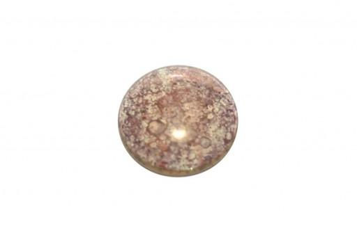 Cabochon Par Puca® Crystal Amber Bronze 25mm