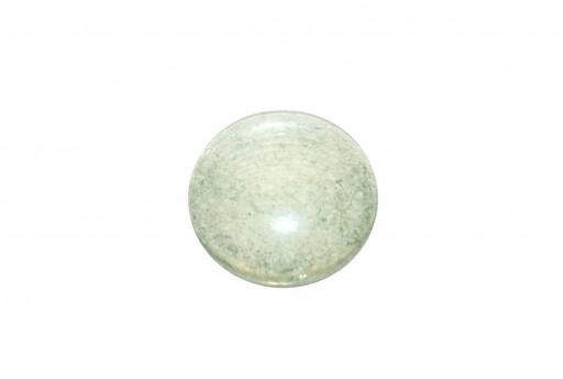 Cabochon Par Puca® Crystal Green Luster 25mm