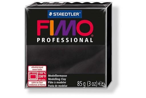 Pasta Fimo Professional 85 gr. Nero Col.9
