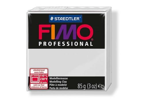 Pasta Fimo Professional 85 gr. Grigio Delfino Col.80