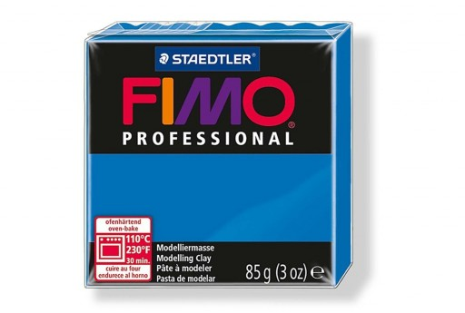 Pasta Fimo Professional 85 gr. Blu Primario Col.300