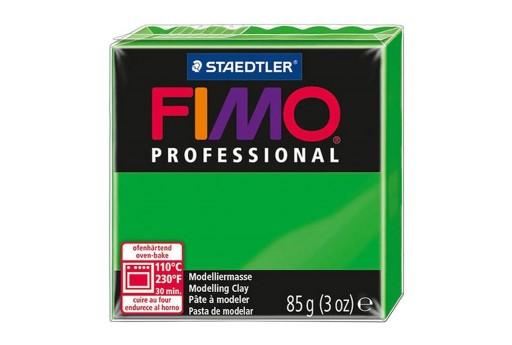 Pasta Fimo Professional 85 gr. Verde Abete Col.5