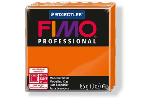 Fimo Professional Polymer Clay 85g Orange Col.4