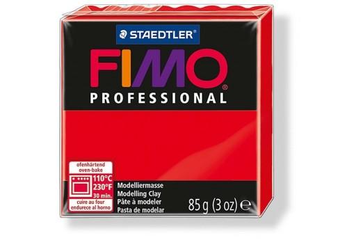 Pasta Fimo Professional 85 gr. Rosso Col.200