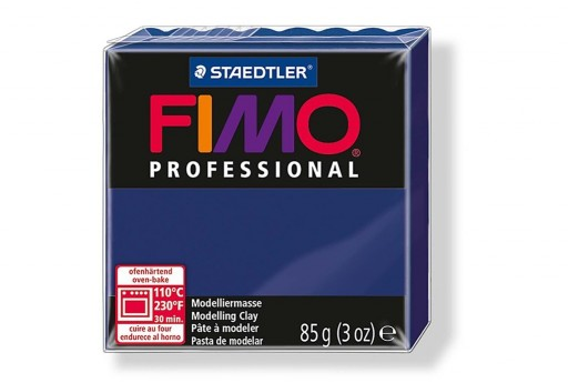 Fimo Professional Polymer Clay 85g Navy Blue Col.34