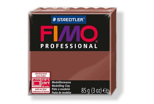 Fimo Professional Polymer Clay 85g Chocolate Col.77