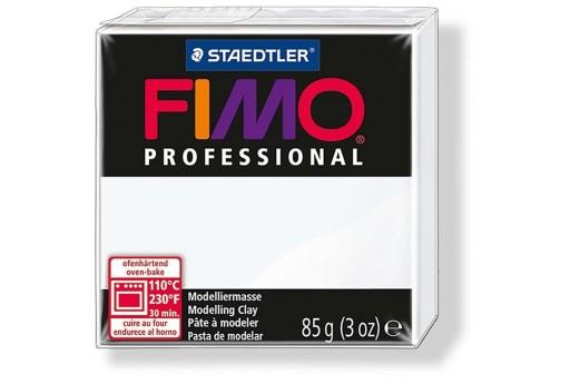 Pasta Fimo Professional 85 gr. Bianco Col.0