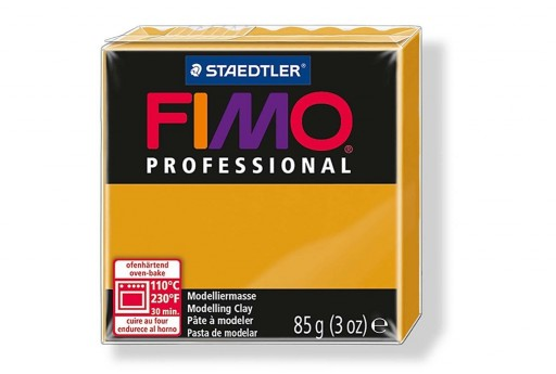 Fimo Professional Polymer Clay 85g Ochre Col.17