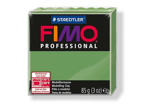 Pasta Fimo Professional 85 gr. Verde Foglia Col.57