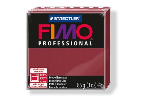 Fimo Professional Polymer Clay 85g Bordeaux Col.23