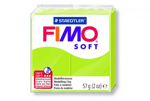 Fimo Soft Polymer Clay 57g  Green Lime