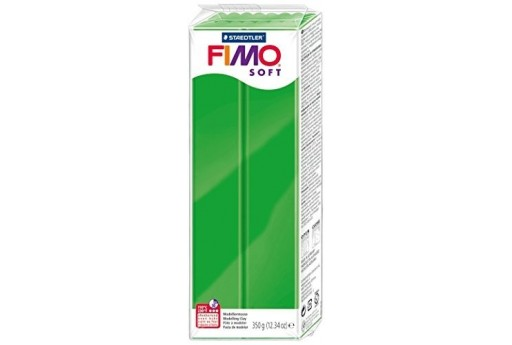 Fimo Soft Polymer Clay 350g Tropical Green Col.53