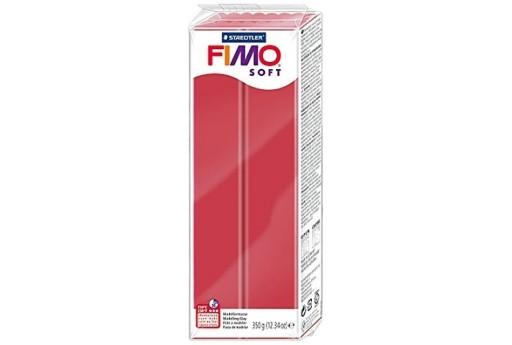 Pasta Fimo Soft 350 gr. Rosso Ciliegia Col.26