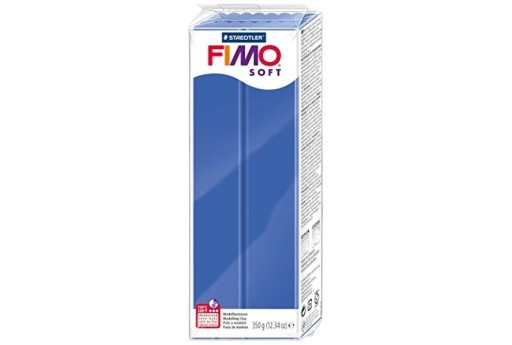 Fimo Soft Polymer Clay 350g Brilliant Blue Col.33