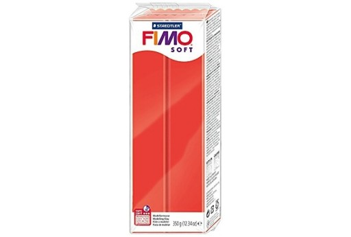 Fimo Soft Polymer Clay 350g Indian Red Col.24