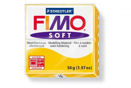 Fimo Soft Polymer Clay 56g Sunflower Col.16
