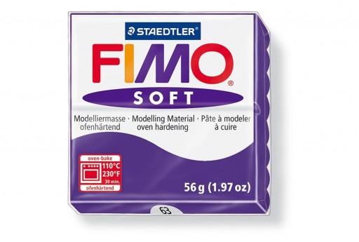 Fimo Soft Polymer Clay 56g Plum Col.63