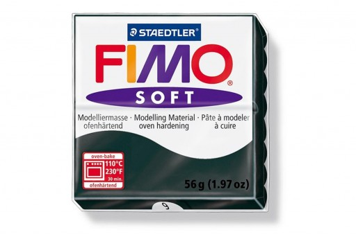 Fimo Soft Polymer Clay 56g Black Col.9