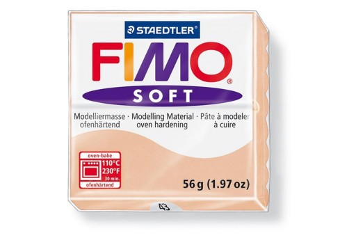 Fimo Soft Polymer Clay 56g Light flesh Col.43