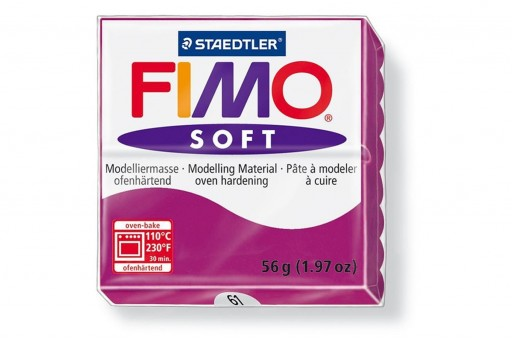 Fimo Soft Polymer Clay 56g Violet Col.61