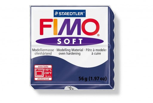 Pasta Fimo Soft 56 gr. Blu Royal Col.35