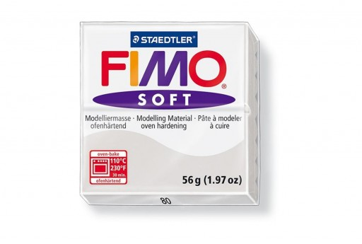 Fimo Soft Polymer Clay 56g Dolphin Grey Col.80