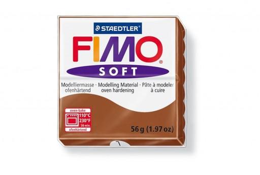 Fimo Soft Polymer Clay 56g Caramel Col.7