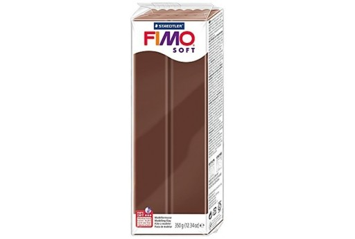 Fimo Soft Polymer Clay 350g Chocolate Col.75