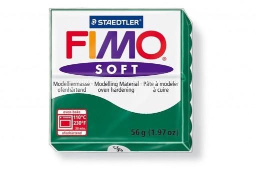 Fimo Soft Polymer Clay 56g Emerald Col.56