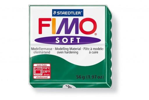 Pasta Fimo Soft 56 gr. Smeraldo Col.56